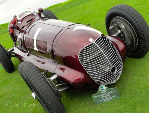 1938 Maserati Tipo 8CTF Monoposto