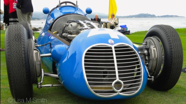 Fangio's 1949 Maserati Tipo 4 CLT/48 Monoposto