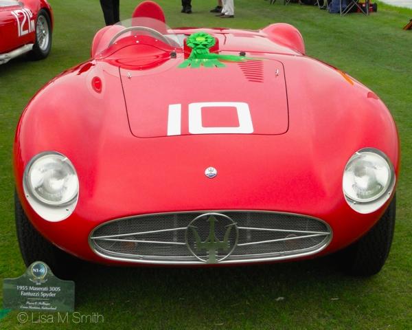 1955 Maserati 300S Fantuzzi Spyder