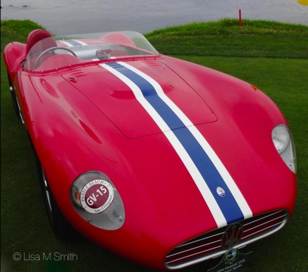 1956 Maserati 350S Fantuzzi Spyder