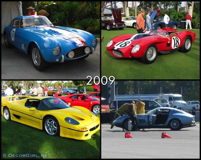 Ferraris from 2009 Cavallino Classic