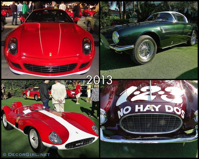 Ferraris from 2013 Cavallino Classic
