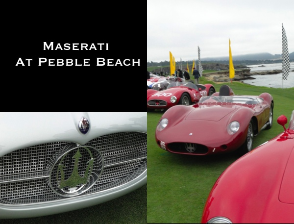 Maserati At Pebble Beach 2014