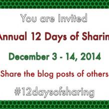 #12daysofsharing