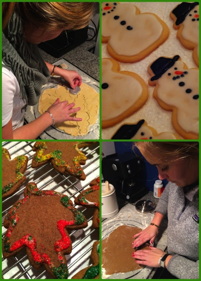 Passing on the holiday traditions of baking cookies