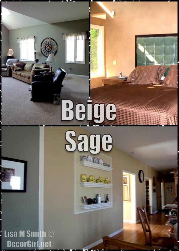 Beige Sage Wall trend