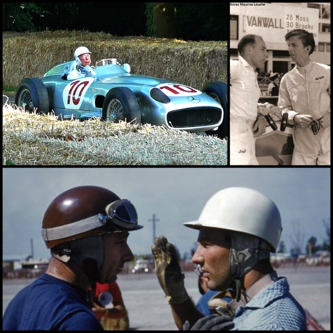 Sir Stirling Moss Collage