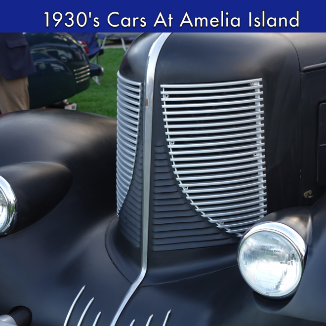1930's Cars from Amelia Island