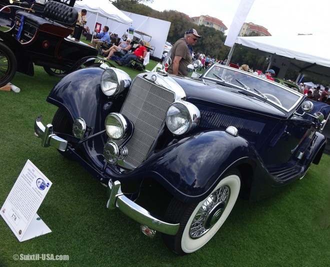 1938 Mercedes-Benz 320 A Cabriolet