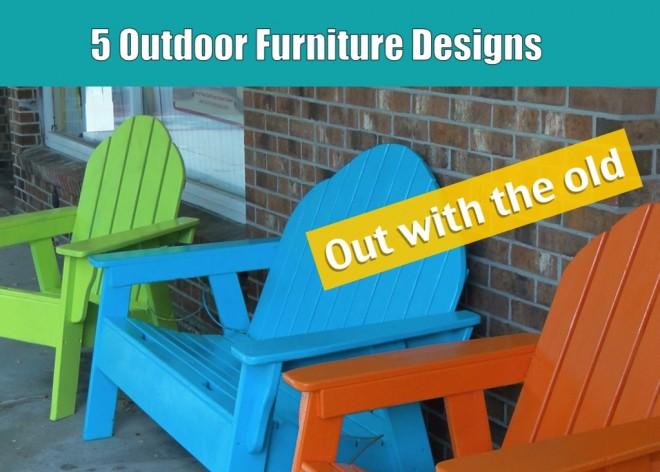 5 outdoor furniture designs