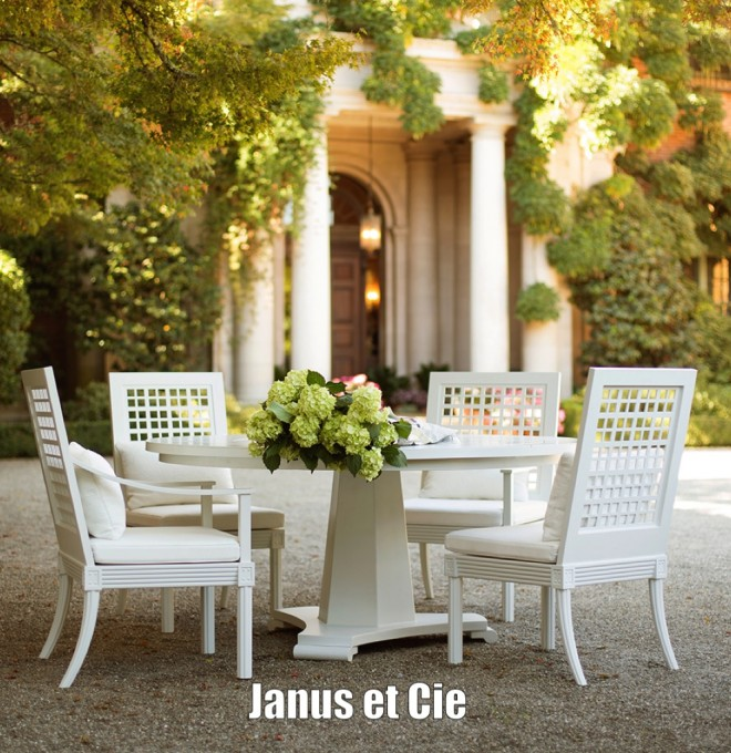 5 outdoor furniture designs to covet now for Janus et cie