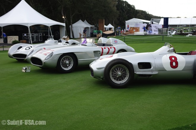 Mercedes-Benz Silver Arrow race cars