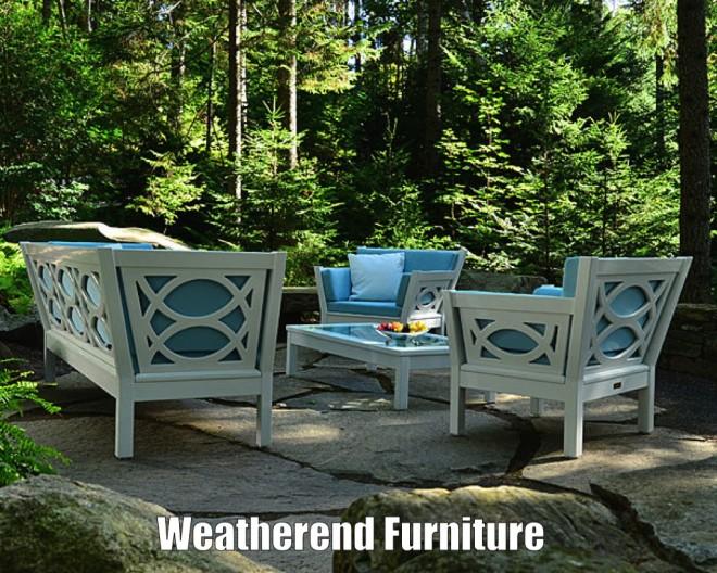 Weatherend Westport collection outdoor furniture