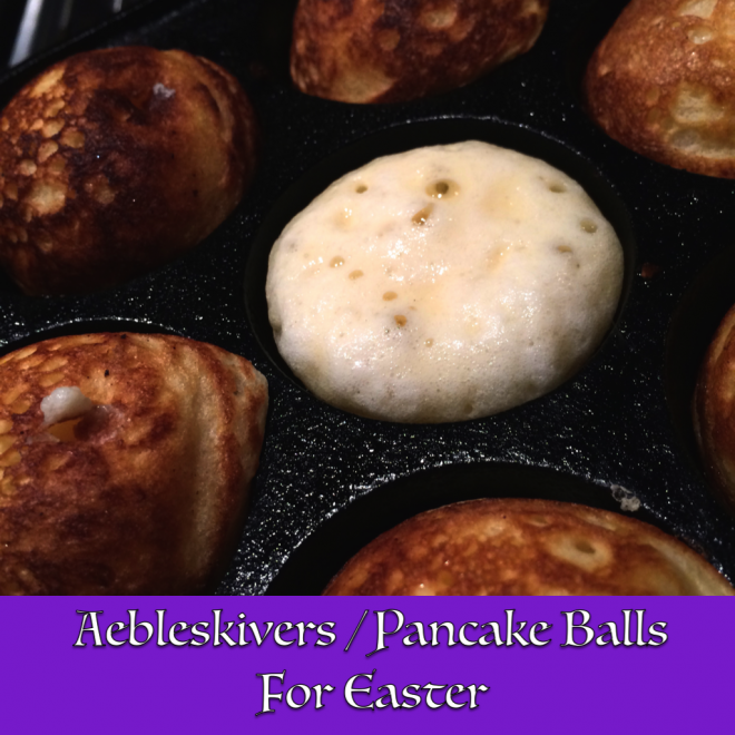 Yummy Pancake Balls With An Easter Brunch Twist
