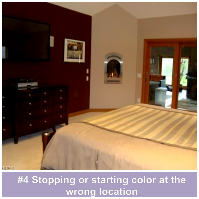 #4 Stopping or starting color at the wrong location
