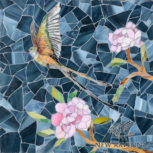 Chinoiserie Sea Glass™ Mosaic