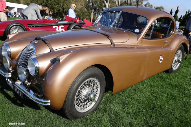 1952 Jaguar XK120 SE Coupe