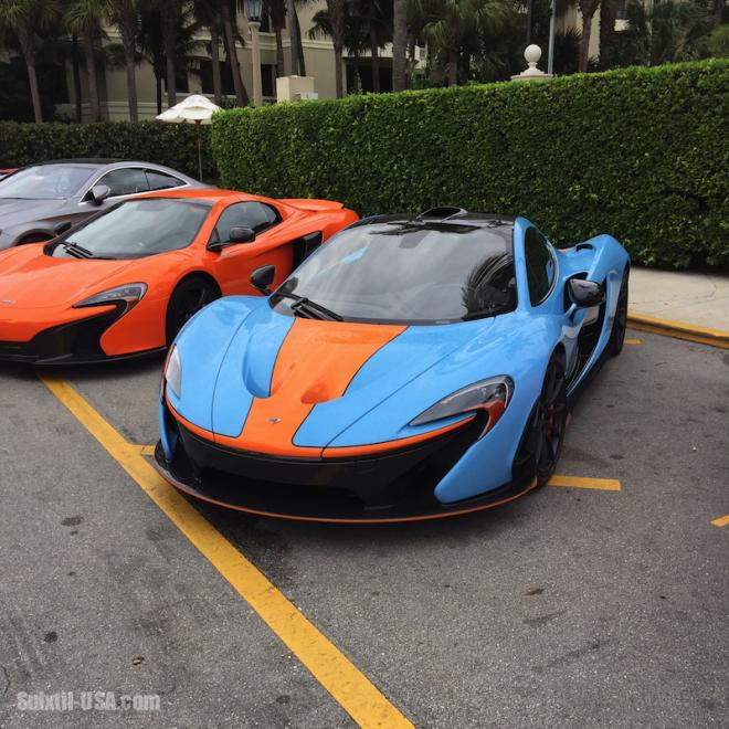 McLaren P1 and 675T