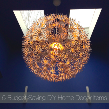 Top 5 Budget Saving DIY Home Decor Items