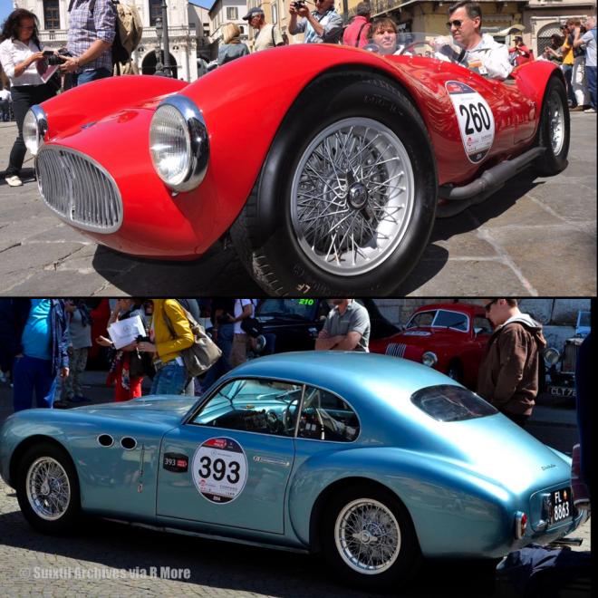 2014 Mille Miglia  Maserati and Cistalia