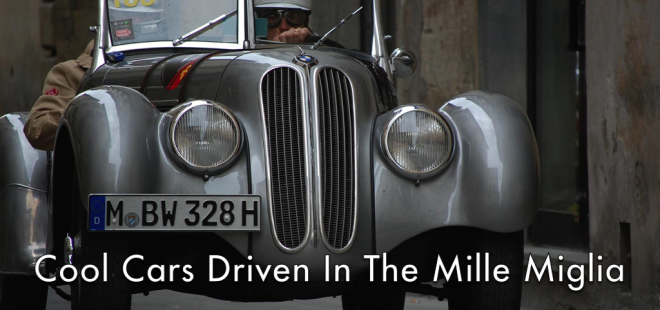 Cool Cars Driven In The Mille Miglia