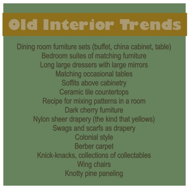 Old Interior Trends