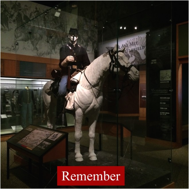 Remember Gettysburg