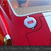 Who To follow For Mille Miglia Coverage