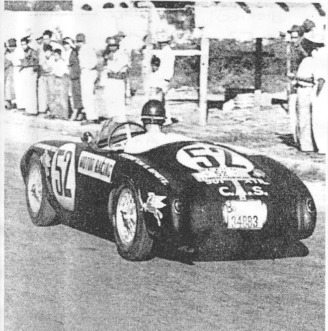 Historic Mille Miglia photo 1954 OSCA MT4 1500