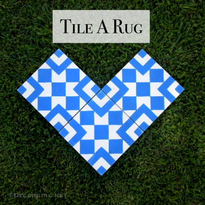 Tile A Rug