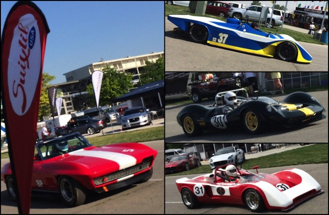 Vintage Race Cars from INDY