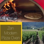 The Zen Modern Outdoor Freestanding Pizza Oven