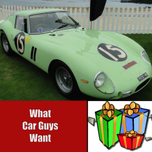 Gifts car guys want