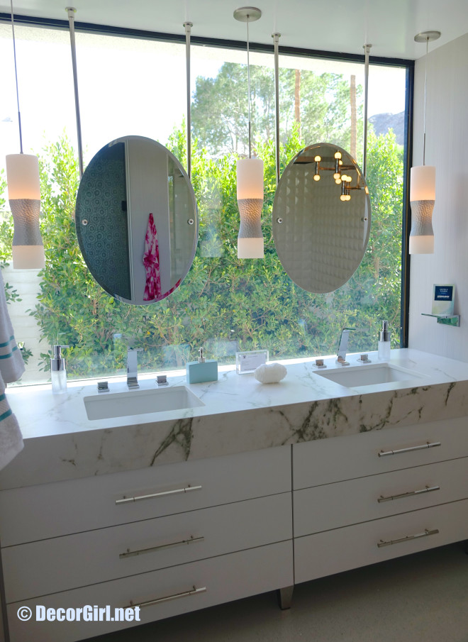 Master bath vanity by Kelli Ellis
