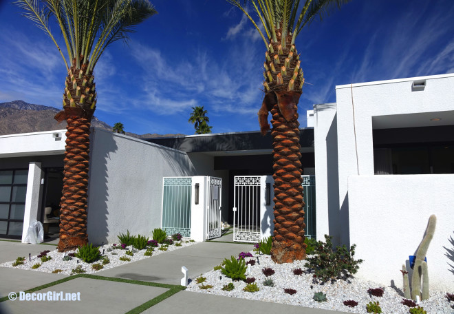 Modernism Week Show House  landscape