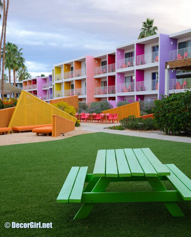 Vibrant Architecture The Saguaro Palm Springs