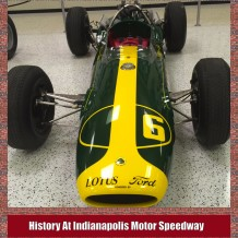 History At Indianapolis Motor Speedway