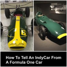 How To Tell An IndyCar From A Formula One Car