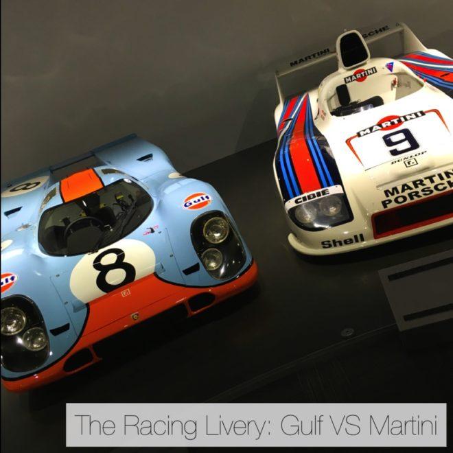 The Racing Livery Gulf Vs Martini