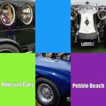 Unusual Cars At Pebble Beach