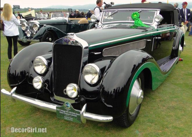 1937 Delage D8-120 Deltasport Henri Chapron Cabriolet