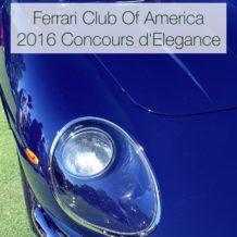 2016 FCA Concours
