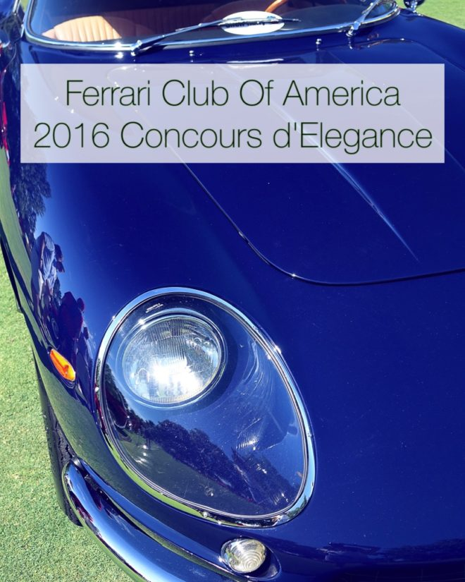 2016 Ferrari California Interior: Enjoy The Most Brilliant Ferraris At 2016 FCA Concours