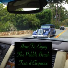 How To Enjoy The Pebble Beach Tour d'Elegance