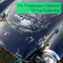 The Preservation Dilemma Of Car Collecting maserati