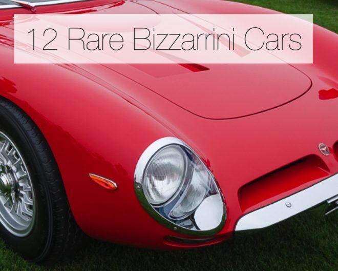 The Rare Bizzarrini Cars On The Esteemed Lawn
