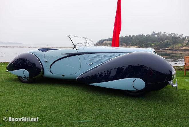 1937 Delahaye 135M Figoni et Falaschi Cabriolet