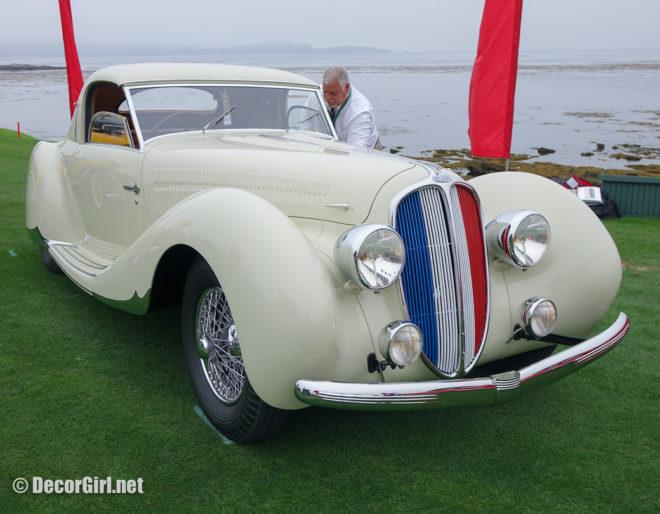 1938 Delahaye 135 M Figoni and Falaschi Coupe