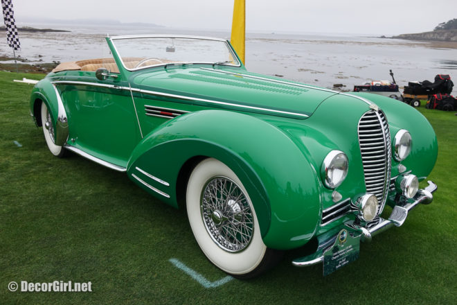 1948 Delahaye 1935 MS Chapron Vedette Cabriolet-