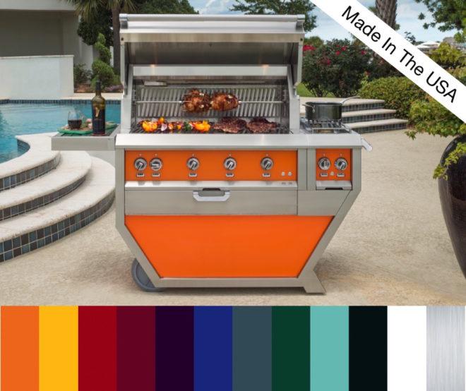 Hestan Outdoor Freestanding Grill